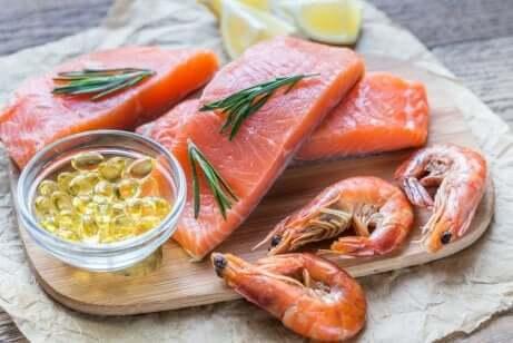 Varietà di pesce ricco di omega 3.