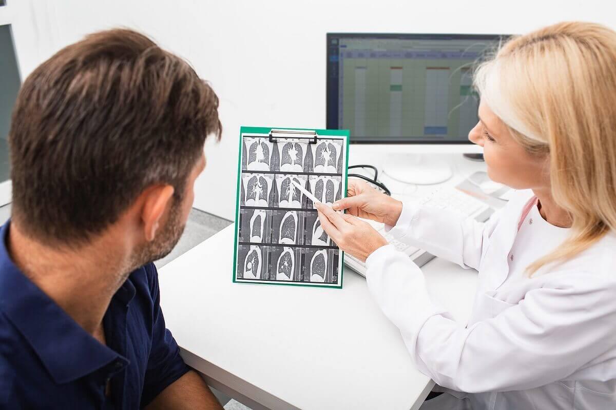 Diagnosi della broncopneumopatia cronica ostruttiva.
