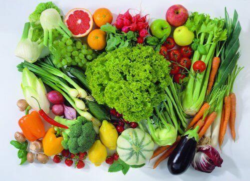 Frutta e ortaggi.
