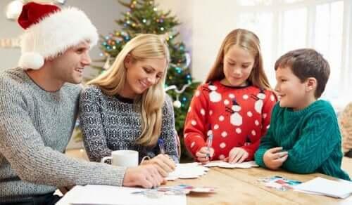 Propositi per l'anno nuovo per la crescita familiare