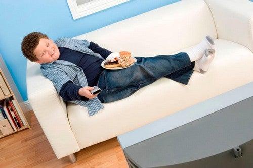 Obesità infantile.