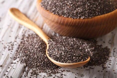Benefici dei semi di chia.