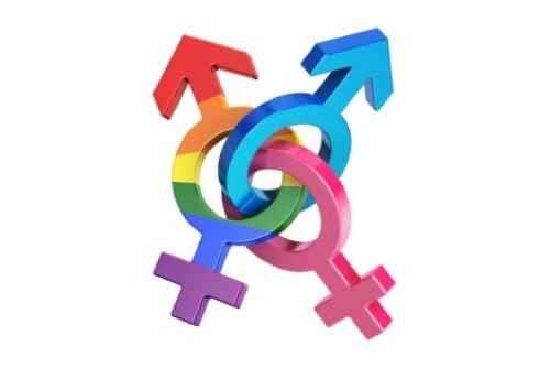 Simbolo parità di genere.