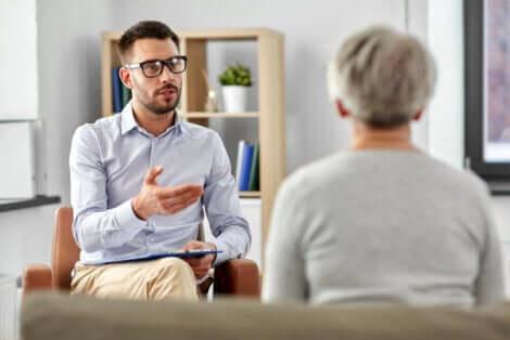 Terapia psicologica per trattare il dolore cronico.
