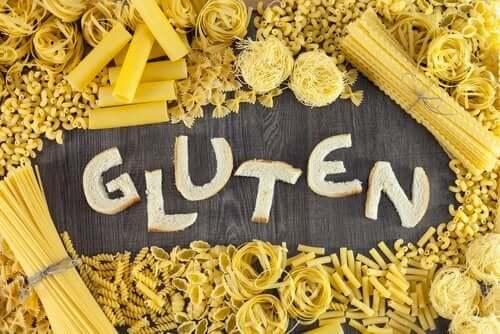 Alimenti con glutine.