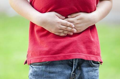 Mal di pancia per i disturbi alimentari nel bambino autistico.