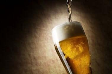 Boccale di birra.