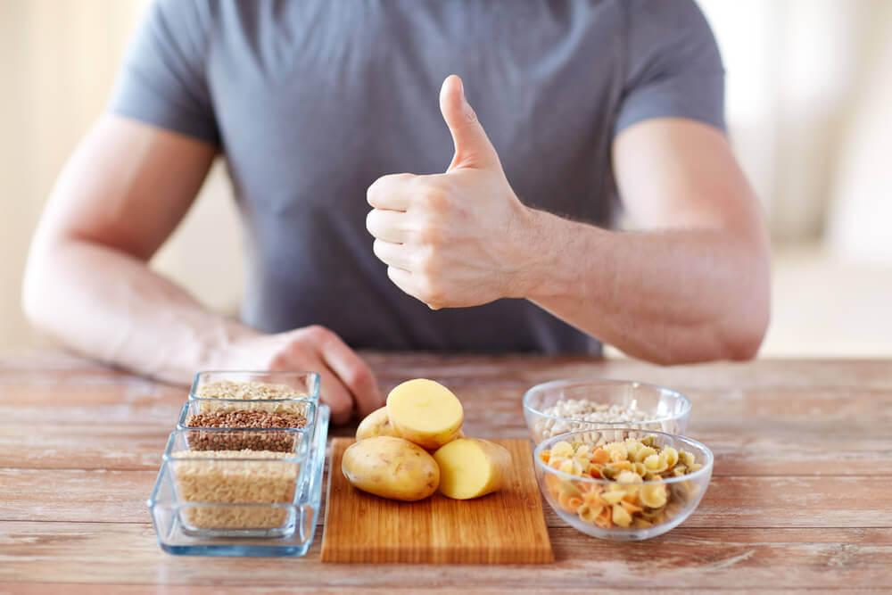 Carboidrati nella dieta.