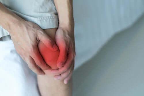 Dolore al ginocchio.