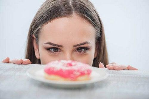 Effetti dello zucchero sul cervello umano.
