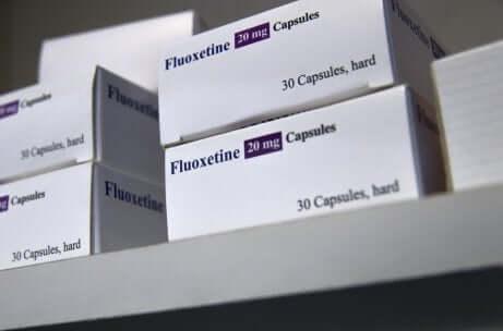 Confezioni di fluoxetina in gravidanza.