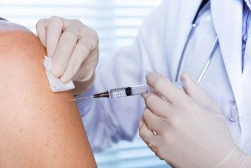 Vaccinazione contro l'influenza.