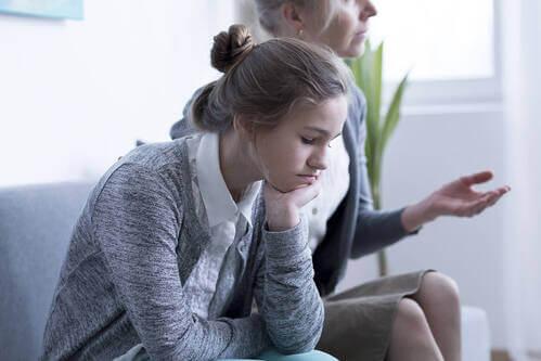 Adolescente in terapia.