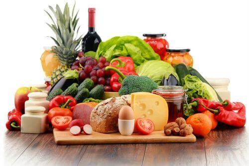 Una dieta bilanciata è la chiave del mangiare bene.