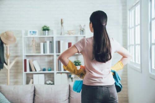 Metodo 20/10 per organizzare le faccende domestiche