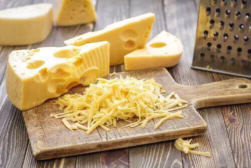 Presentazione di formaggio.