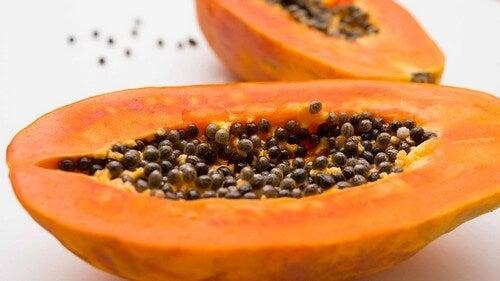 Perdere peso con la papaya.