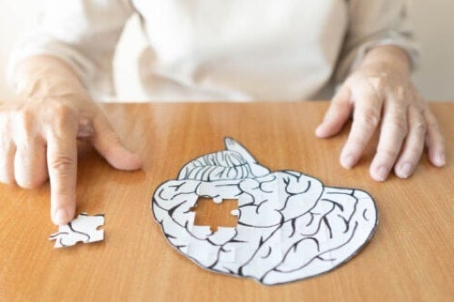 Puzzle cervello.