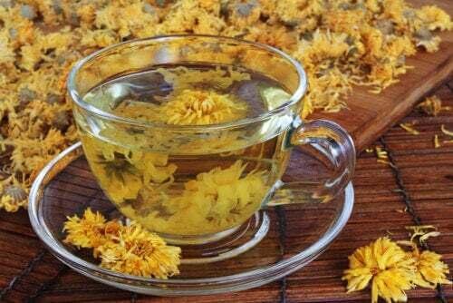 Tè al crisantemo: benefici e precauzioni