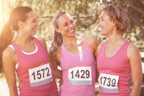 Donne esercizio cancro al seno-