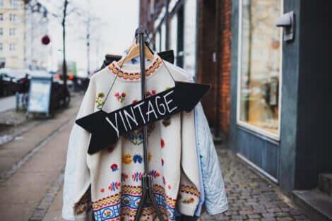 Negozio di vestiti usati e vintage.