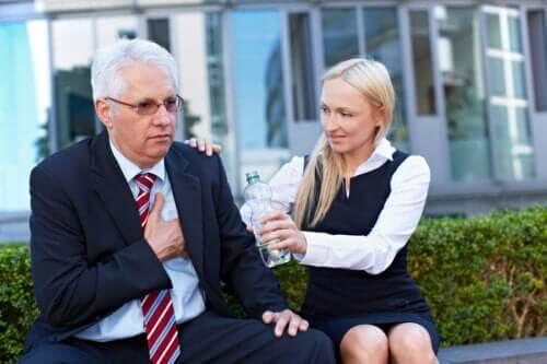 Lo stress da lavoro associato al rischio di infarto