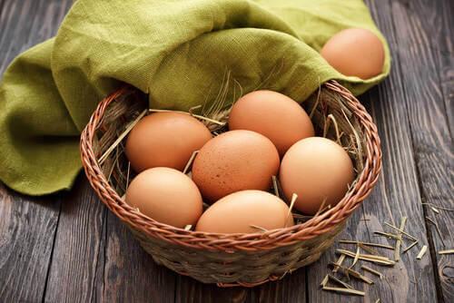 Uova fresche.