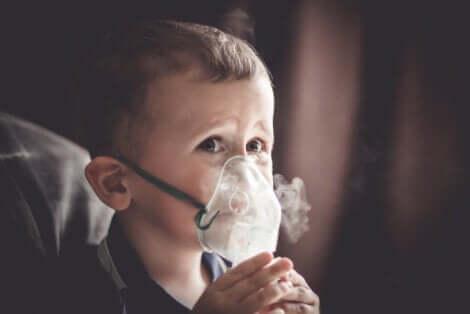 Ossigeno terapeutico.