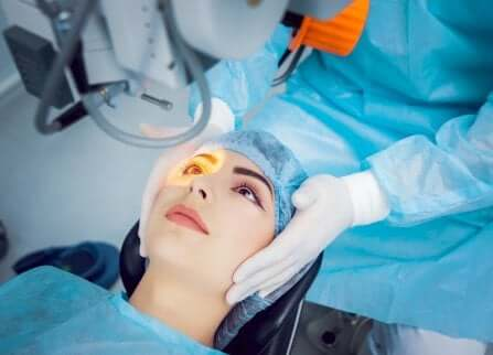 Glaucoma ad angolo aperto: chirurgia laser.