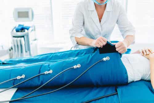 Dispositivo di pressoterapia.