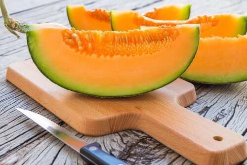 Melone a fette.