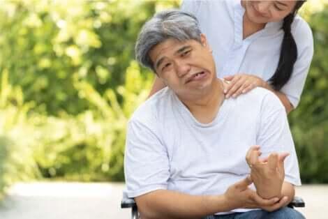 Emorragia cerebrale: paziente che ha subito un ictus cerebrale.