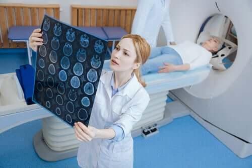 Interpretazione risultati da tomografia computerizzata.