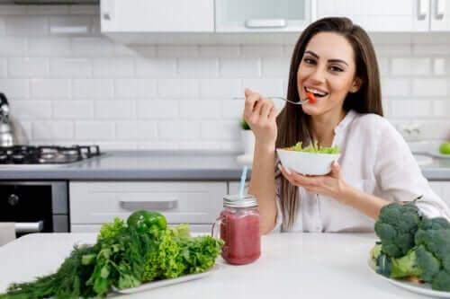 La salute della pelle e il ruolo dell'alimentazione