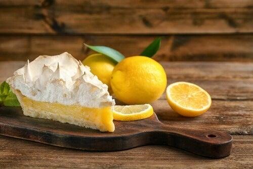 Lemon pie senza zucchero: una ricetta sana