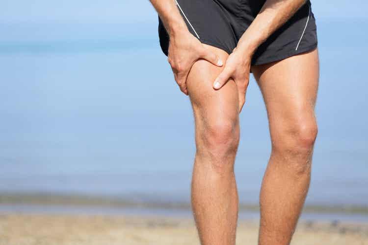 Dolore causato da una lesione al muscolo ileopsoas.