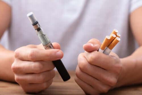 Vaporizzare o smettere di fumare?