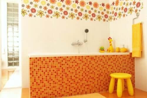 Abbellire il bagno dei bambini: 7 idee