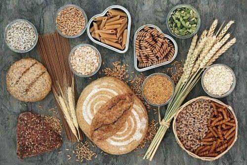 Cereali integrali.