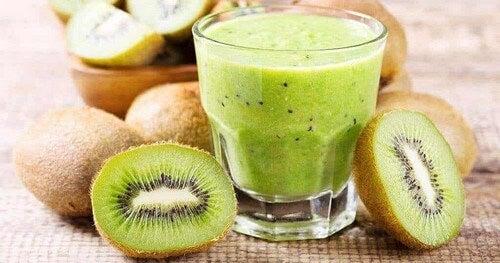 Frullato di kiwi.