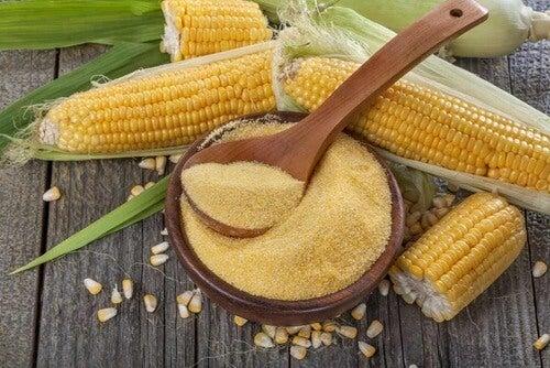Pannocchie di mais.