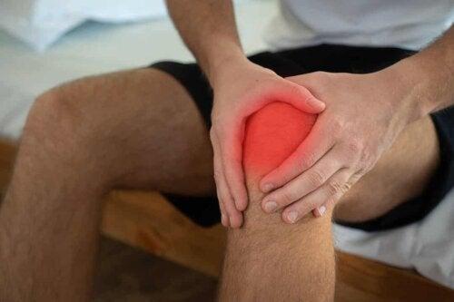 Lesione ai legamenti del ginocchio.