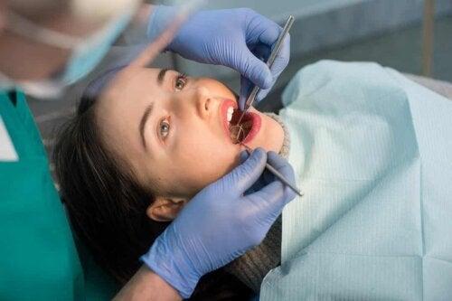 Salute dentale: visita odontoiatrica.