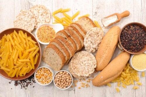 Alimenti per celiaci.
