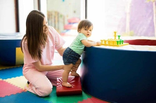 Attività fisica per bambini.