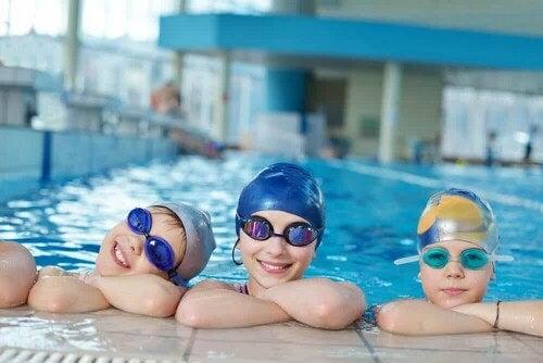 I benefici del del nuoto.