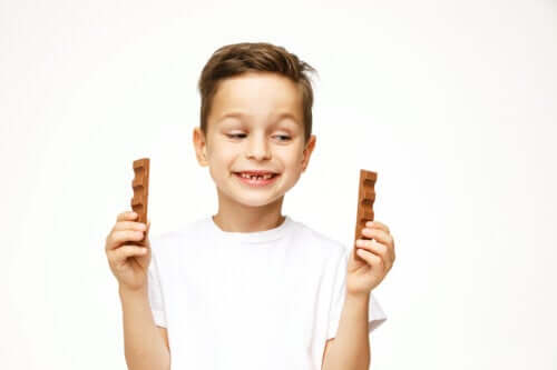 Cioccolato al bambino: fa bene alla salute?