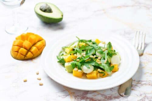 Insalata di mango e avocado: 3 ricette