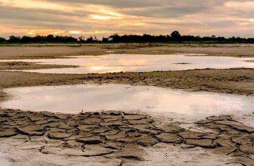 Cambiamento climatico e siccità.