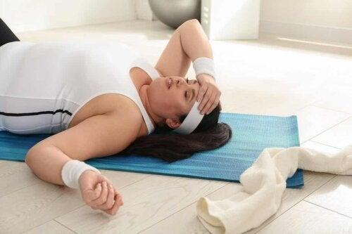 Ipotiroidismo e attività sportiva: occorre tenere conto di una tendenza al sovrappeso.